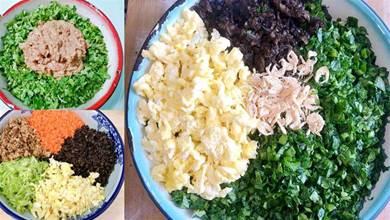 冬至吃餃子,這6種餡太霸道,3葷3素很營養,好吃好做味道棒