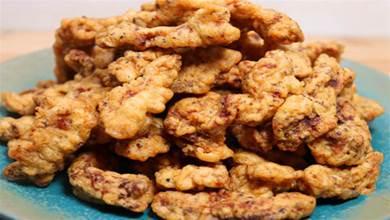 炸酥肉,用麵粉還是澱粉?都錯了,大廚教您正確做法,香酥不回軟