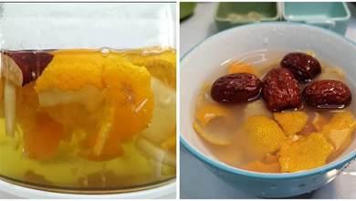 橘子皮千萬不要扔,加入白蘿蔔一起煮有妙用,解決冬天大煩惱