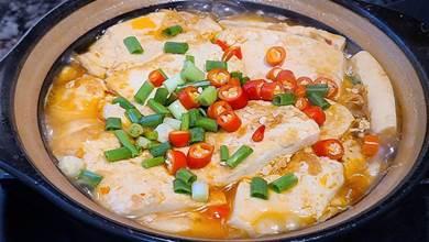 家常版白菜豆腐煲,簡單好吃味道棒,天冷吃這道菜正好