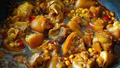 豬腳燉黃豆,牢記「3不要」,軟爛解饞又沒腥味,大人小孩都愛吃