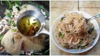 炒米粉有竅門,多加一樣料,不粘鍋,不粘連,吃起來超香