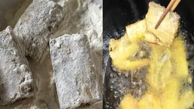 油炸帶魚時,用麵粉還是用澱粉?教你正確做法,酥脆好吃不回軟