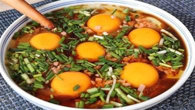 早餐別總包子油條,學會這道臥雞蛋,8分鐘上桌,簡單營養又好吃