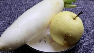 冬季蘿蔔和梨這樣做,專治反復咳嗽,預防感冒,做法一看就會