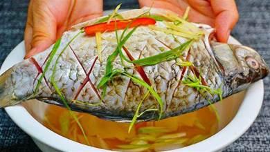 不論做什麼魚,都不要放醋和料酒,大廚教你一招,魚肉鮮嫩無腥味