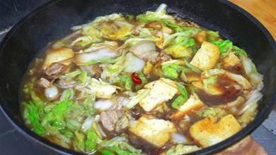 白菜燉豆腐最忌直接下鍋,教你正確做法,上桌連湯汁都能喝完