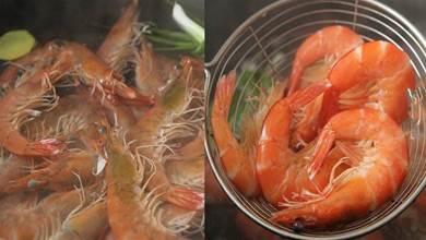 過年水煮蝦時,用涼水下鍋還是熱水下鍋?區別挺大,別再弄錯了