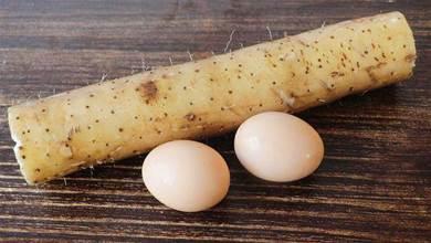 1根山藥2個雞蛋,教你好吃做法,比油條還香,老公三天兩頭吃一次