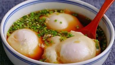 水煮荷包蛋我就愛這做法,一做一個准,個個不破損,完整又好吃