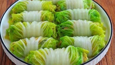 天冷該吃白菜了,老吃法教會你,一層要比一層香,鮮嫩好吃又多汁