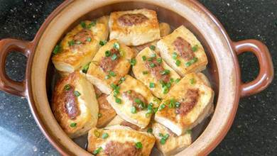 客家釀豆腐煲又有新吃法,新年待客做一鍋,營養好吃又便宜,越吃越香