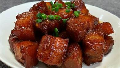大廚教你紅燒肉正確做法,軟糯香甜,肥而不膩,過年吃著真香
