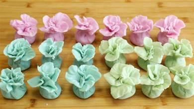 水晶餃:用1種蔬菜就能做3種顏色,個個晶瑩剔透,家裡孩子都喜歡