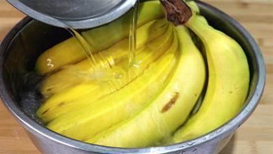 香蕉放兩天就會變黑,水果店老闆教我一招,放一個星期也不會壞掉