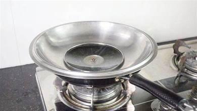 把鍋蓋倒扣在鍋上,真是聰明,一般人還不懂,看完漲知識了,學學