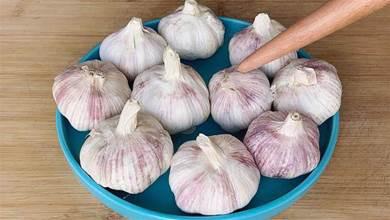原來保存大蒜這麼簡單,爺爺教我一招,不發芽不乾癟,放一年不壞