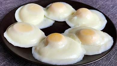 煮荷包蛋時,切記不要直接下鍋煮,教你一招,一鍋一個都不散