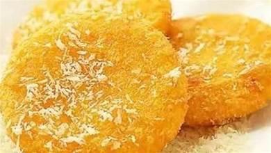 做南瓜餅時,用糯米粉還是麵粉?老師傅:都不對,教您正確做法