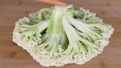 花菜別只用鹽和麵粉洗,相當於吃蟲卵,教你一招,髒東西全跑光