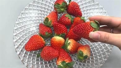 草莓不能亂洗,教你一招,農藥蟲卵自己跑出來,愛吃草莓都要學學