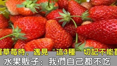 水果店老闆告訴我:這3種草莓別再買了,白送也不能要,快看看