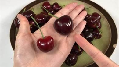 洗櫻桃別光用水沖,水果攤主教我妙招,農藥蟲卵全去除,放心吃