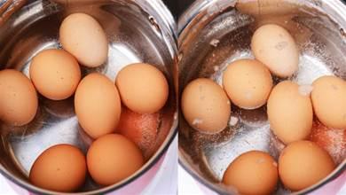 煮雞蛋萬萬不可只用清水,多加1步,蛋殼一碰就掉,雞蛋香嫩好吃