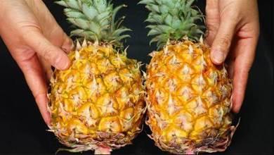 買菠 蘿,甜不甜只要看一眼這個地方,包你一買一個准,別再買錯了