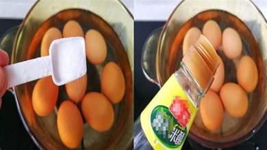 煮雞蛋時, 有人加鹽,有人放醋,早餐店老闆教你6招,鮮嫩易剝殼