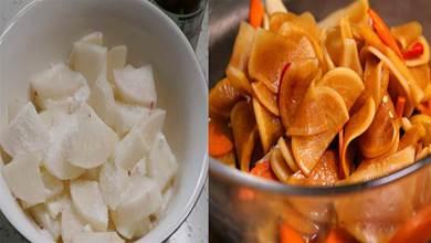 教你個飯店醃菜的萬能醃汁,不管是醃黃瓜,醃蘿蔔都特別好吃下飯,酸辣開胃