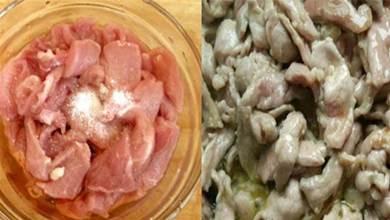 不管炒什麼肉,不要加澱粉,60年老師傅教你正確做法,肉片更鮮嫩