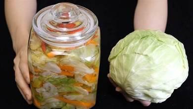 泡菜簡單好吃做法,配方比例都告訴你,清脆爽口,一晚上就能吃