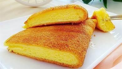平底鍋就能完成的、入口即化的舒芙蕾式蛋糕,簡單好做,太好吃