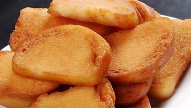 在家炸饅頭片,教你1個技巧,炸饅頭片不費油,金黃酥脆不吸油
