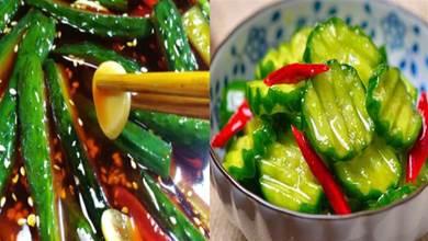黃瓜別再拍啦!新吃法不用醃不用泡,輕鬆搖一搖,搖出泡菜味的小黃瓜