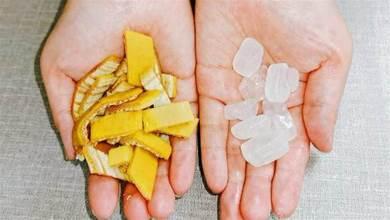 香蕉皮加冰糖,沒想到作用這麼厲害,解決了很多人的煩惱,長見識