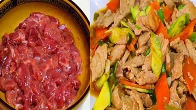 不管炒什麼肉,都別直接下鍋,大廚教你正確做法,肉不柴也不腥