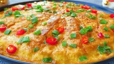 最近很火的雞蛋豆腐做法,飯店賣58一盤,在家成本不到5元真解饞