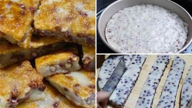 紅豆不要煮粥了,加半碗糯米粉,吃著軟軟糯糯,做法超簡單